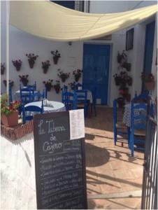 Cafe i Frigiliana