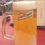 Kold øl i Competa