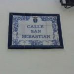 Calle San Sebastian i Competa