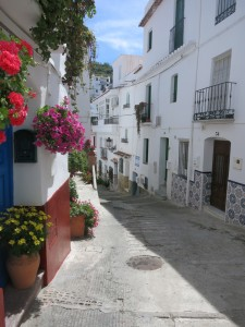 Gadeparti fra Calle san Sebastian, Competa